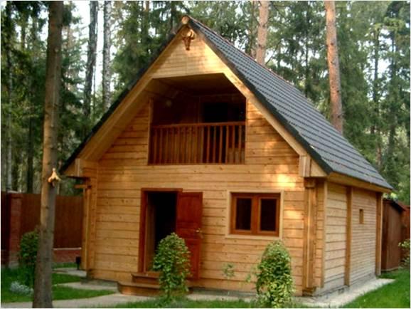 Баня из бруса 6х6 является оптимальным решением для дачи и частного дома.