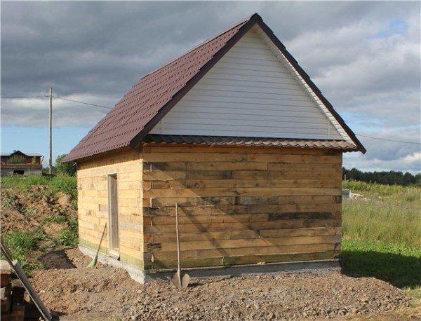 Баня из древесины