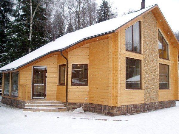 Брусовый дом: природный и надежный материал