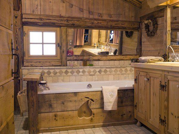 Даже ванная комната обладает самобытностью!
