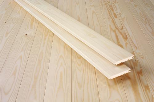 Деревянная вагонка – отличная идея для отделки