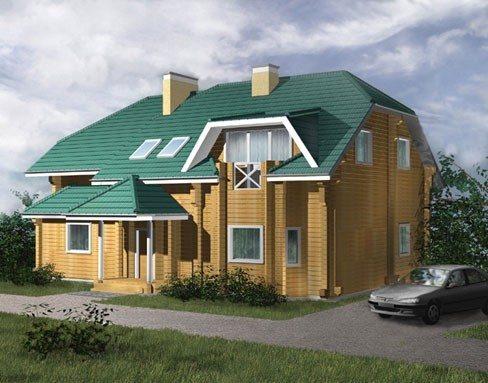 Дом из бруса – типовой проект