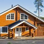 Дом из финского клееного бруса