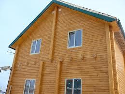 Дом из клееного бруса построить намного проще благодаря идеальным размерам и профильному сечению этого материала