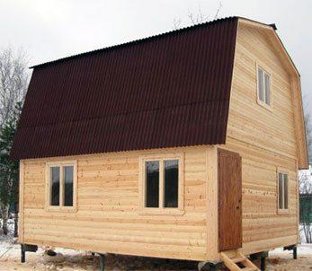 Дом на сваях: достаточная устойчивость при низких затратах