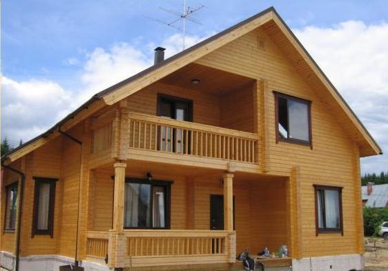 Дом, построенный по типовому проекту