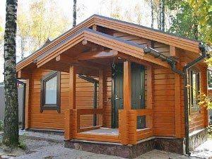 Дома из данного материала с соответствующим покрытием обладают потрясающей красотой