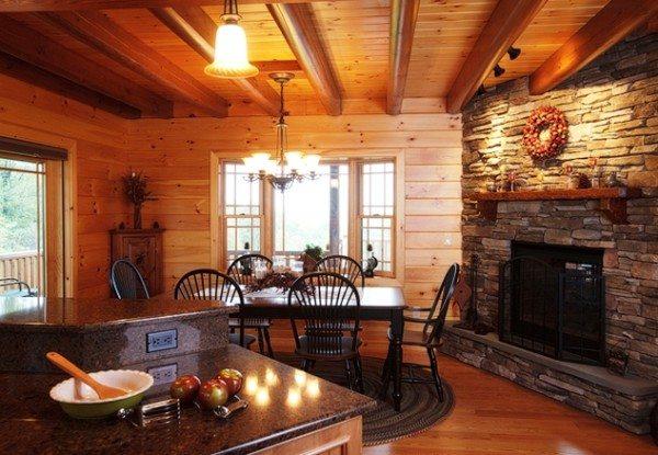 Дома изготовленные из клееного бруса из лиственницы не только практичны, но и полезны для здоровья