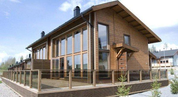 Финляндия - лесная страна. Неудивительно, что древесина стала в ней популярным строительным материалом.