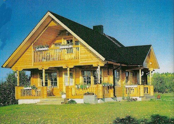 Финские деревянные дома пользуются популярностью среди российских застройщиков.