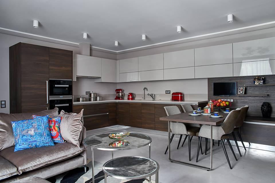 Кухонная зона дома Ирины Аллегровой