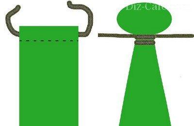 Завязывание веревки в мексиканском гамаке