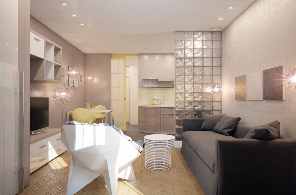 Малогабаритная квартира-студия