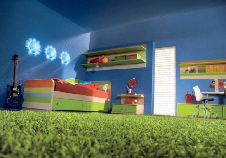 Чем хорош мягкий пол для детской комнаты?