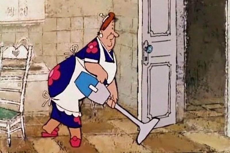 Если вы не сильно суеверный человек, стоит придать полам чистоту, после ухода гостей.