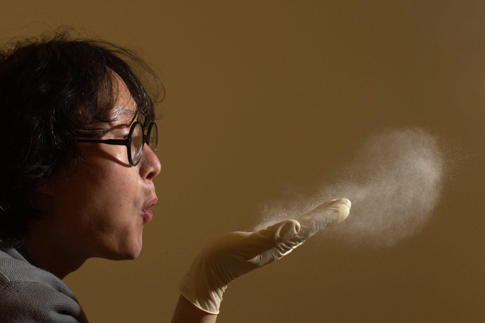 Пыль имеет очень разный состав.