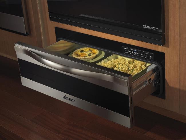 Ящик под духовкой может служить для поддержки тепла в блюде.