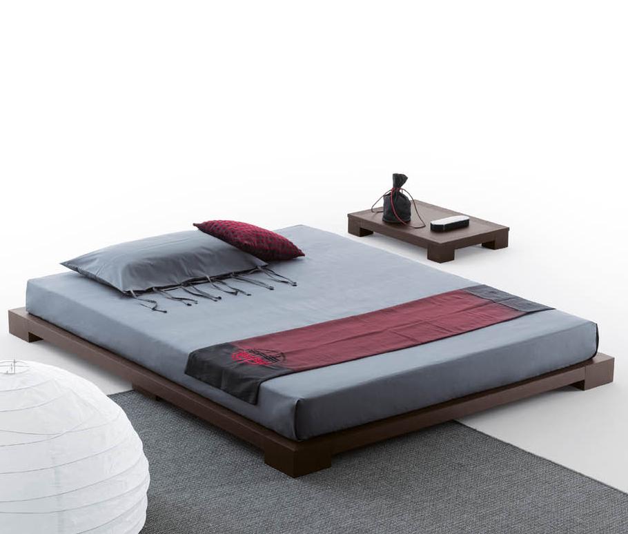 Кровать-татами подчеркнет минималистический стиль комнаты.