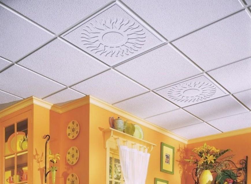 Потолочная плитка может украсить любой дом.