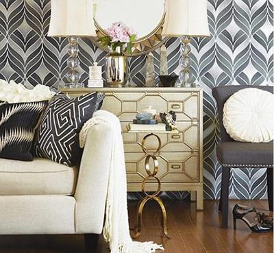 Орнаменты выполнены в одном цвете, что создает приятное впечатление.