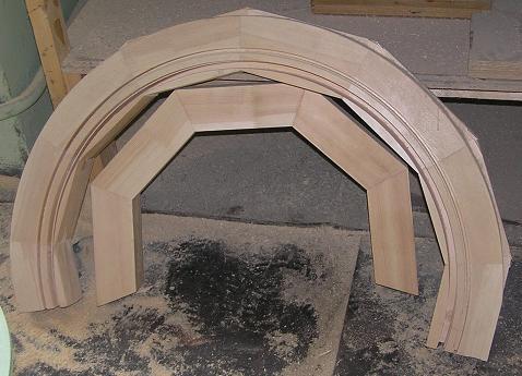 Фото изделия из клееной древесины
