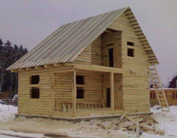 Фото того строения, которое должно выстаиваться.
