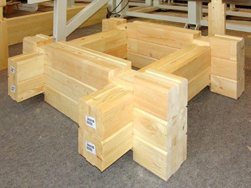 Готовые изделия максимально точно подогнаны друг к другу и собираются наподобие конструктора.