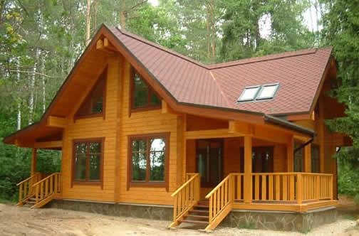 Готовый дом из клееных балок – наша цель
