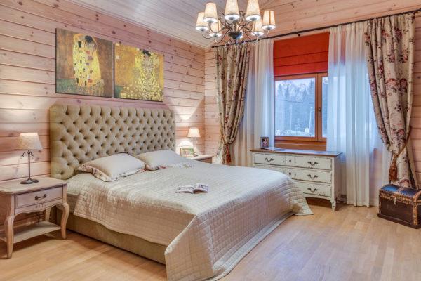 В спальне человек проводит большую часть своего времени