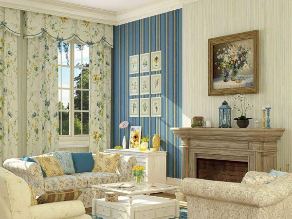 Прованс больше подойдет тем, кто хочет добавить в дизайн своего дома умиротворение и спокойствие