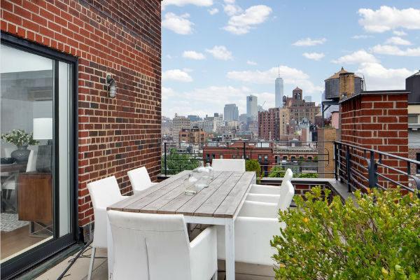 Пейзаж, открывающийся из террасы квартиры актрисы