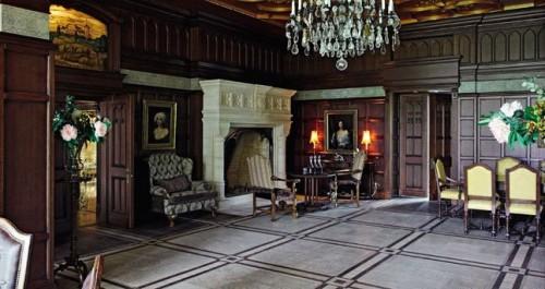 Уютное место для отдыха в гостиной