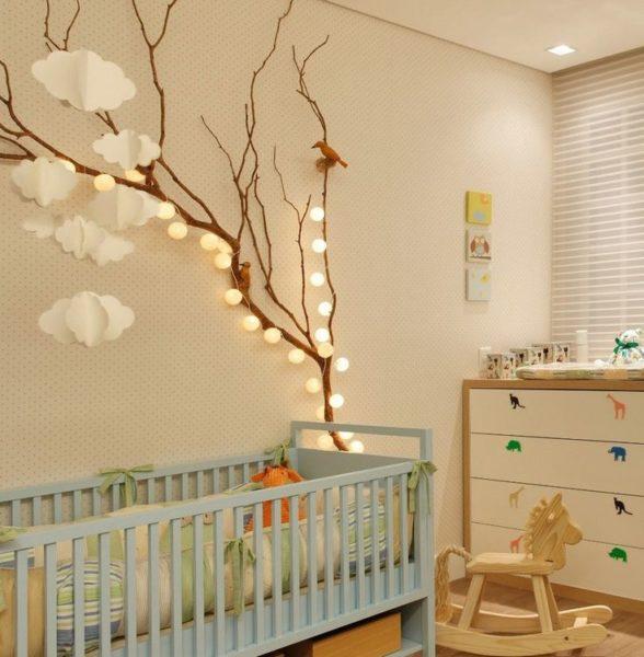 Дерево – идеальный вариант для оформления детской комнаты. Экологичность материала и необычность форм и решений позволят оформить комнату нестандартно и уютно