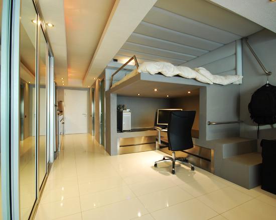 Устройство кровати под потолком может потребовать возведения весьма серьёзных конструкций. А оно, в свою очередь – согласований.
