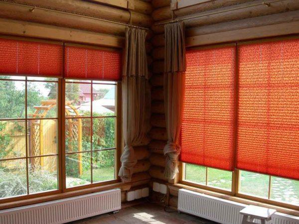 Рулонные шторы – лаконичны и просты в использовании и обслуживании