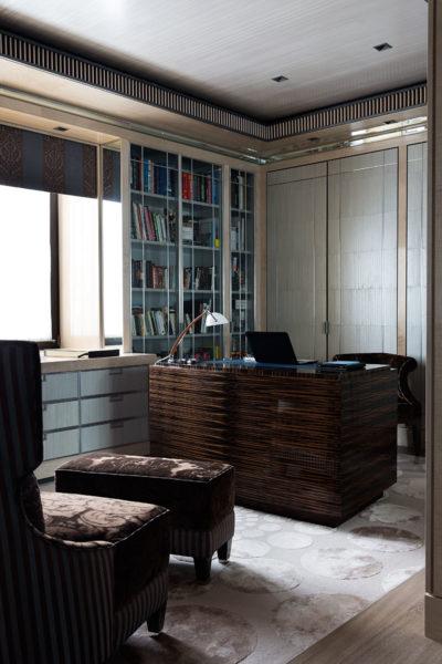 Фрагмент домашнего кабинета Иосифа Пригожина