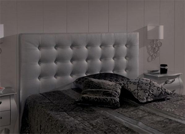 Прямоугольное изголовье кровати