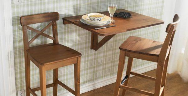 Откидной стол для кухни