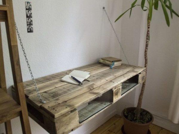 Подвесной столик на цепях