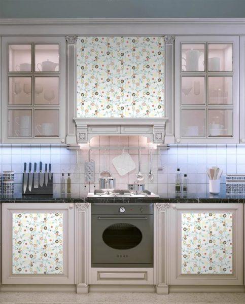 Отреставрированная кухонная мебель
