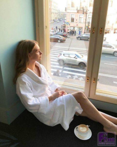 Уютные подоконники в квартире Гарика Харламова и Кристины Асмус