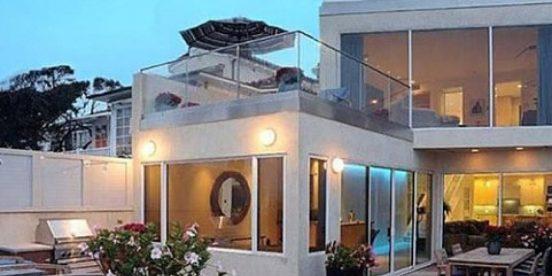 Внешний вид дома Джима Керри в Малибу