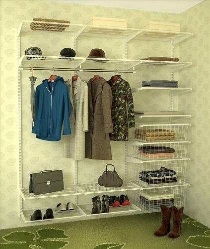 Хранение в непосредственной близости только используемой одежды