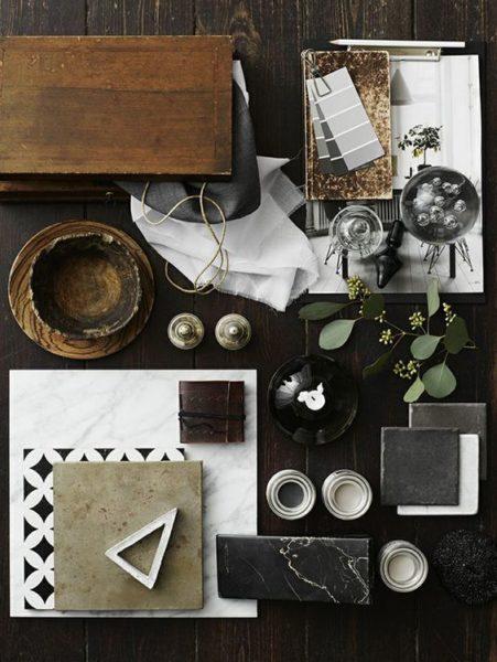 Примеры натуральных материалов