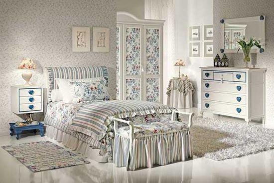Характерная для Прованса кровать