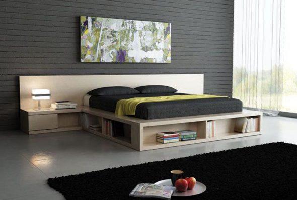 Кровать на каркасной основе