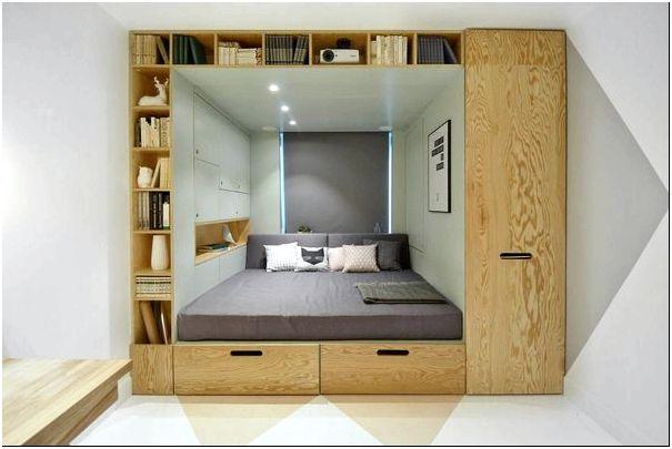 Многофункциональная кровать-подиум