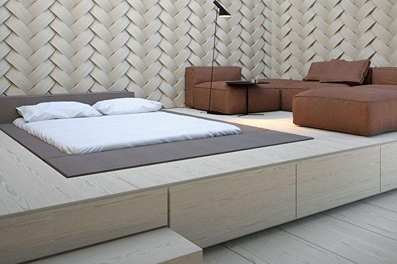 Мобильная кровать-подиум