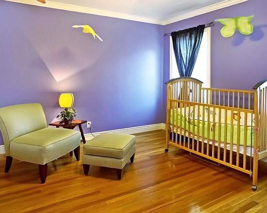 Паркетный пол в детской комнате