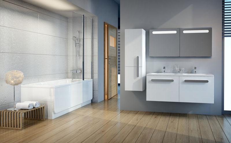 Классические шкафы для ванной комнаты